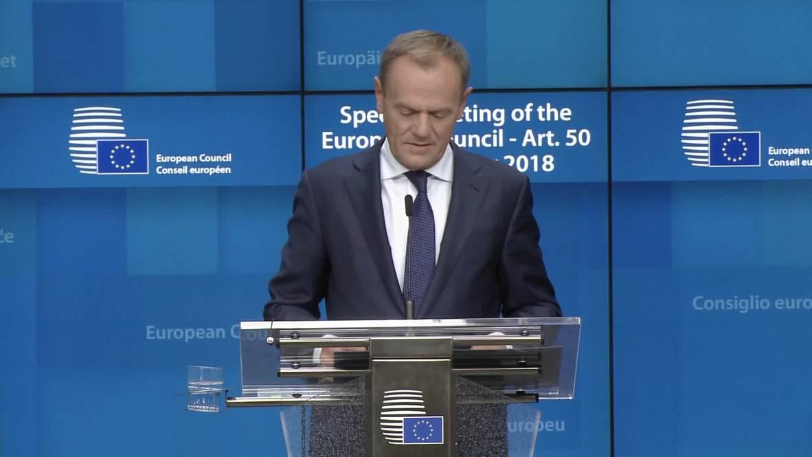 Belgium: 'A very sad day' says Juncker as European Council endorses Brexit deal