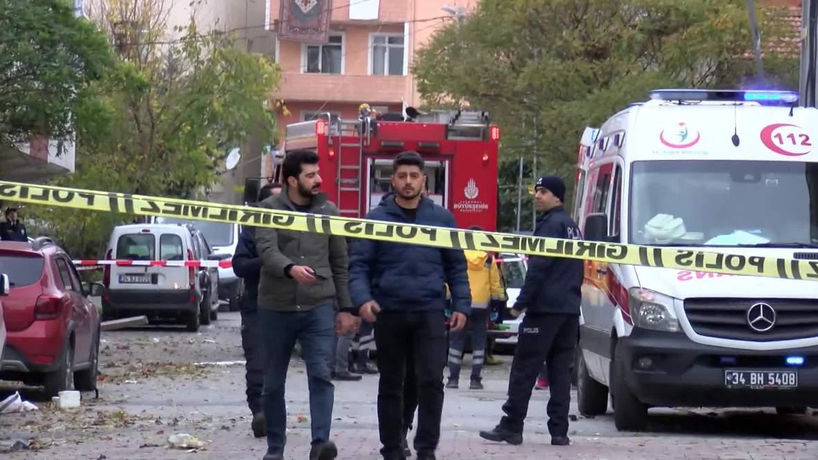 Turquía: Un helicóptero militar se estrella en Estambul matando a cuatro personas - Autoridades turcas