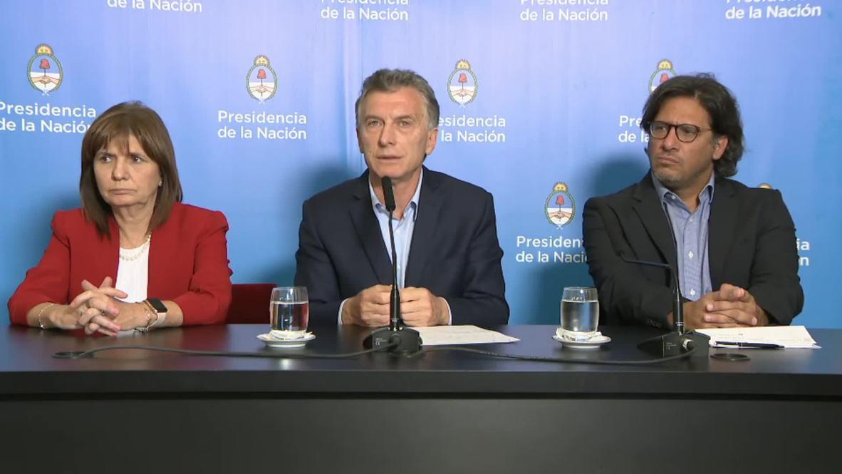 Argentina: Macri vents fury over 'insane' Copa Libertadores violence