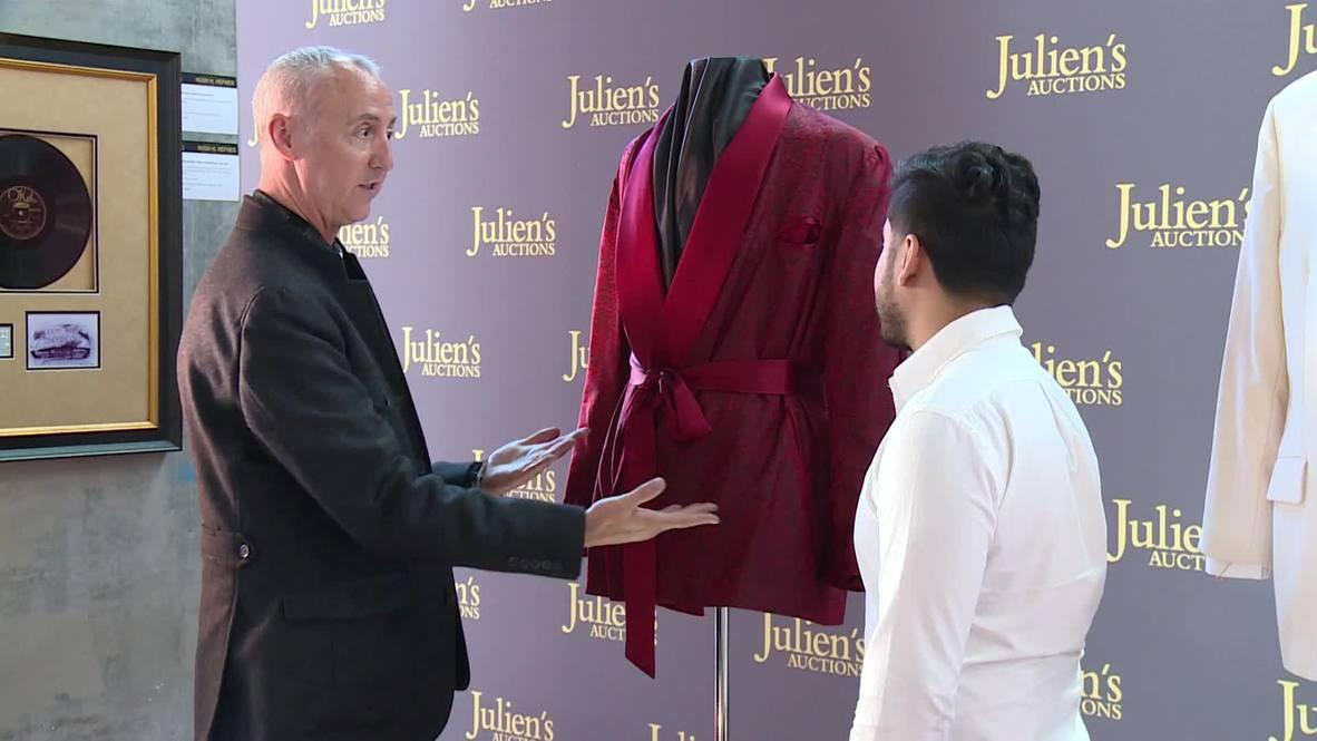 EE.UU.: Los icónicos pijamas de seda y otros objetos personales de Hugh Hefner saldrán a subasta en Los Ángeles