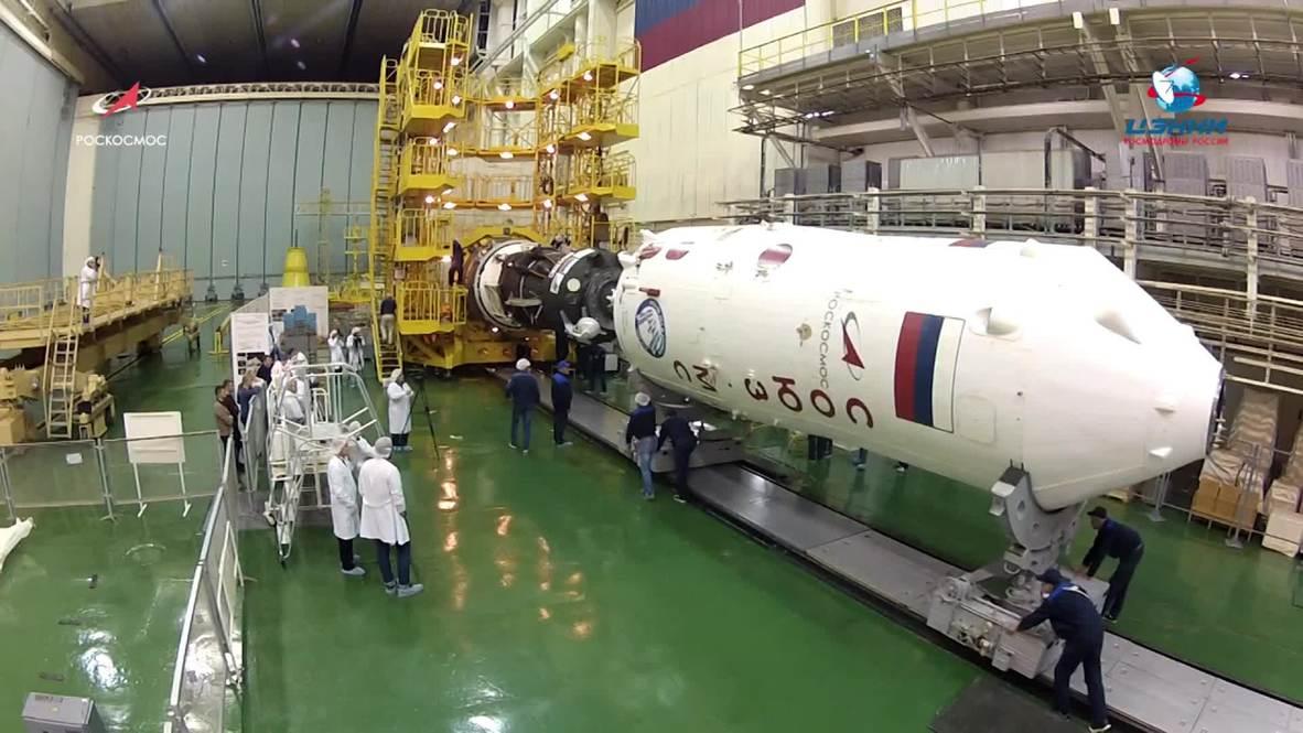 Kazakhstan: Soyuz MS-11 examined in Baikonur ahead of space flight