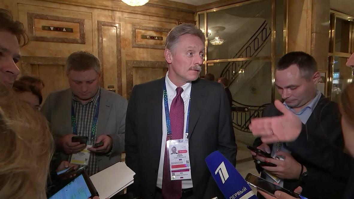 Argentina: Peskov reveals emails allegedly from Trump's former lawyer