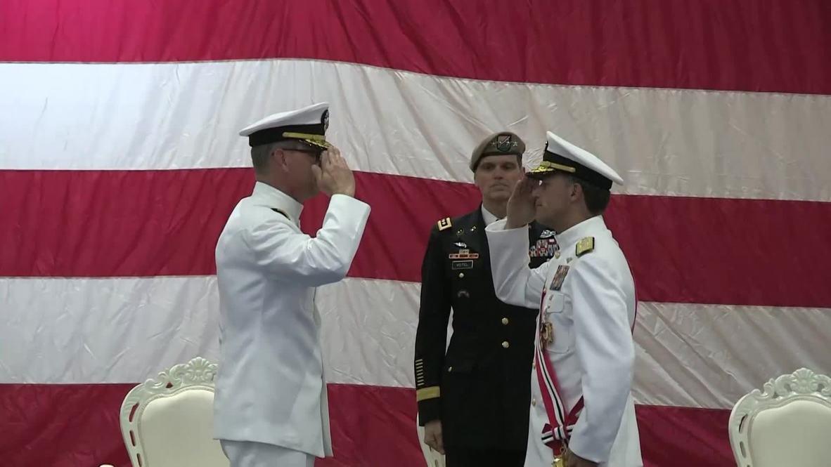 Bahrain: US navy chief Scott Stearney found dead in Bahrain ARCHIVE