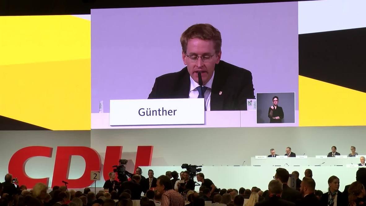 Germany: Sec. Gen Kramp-Karrenbauer wins first round of CDU party leadership vote