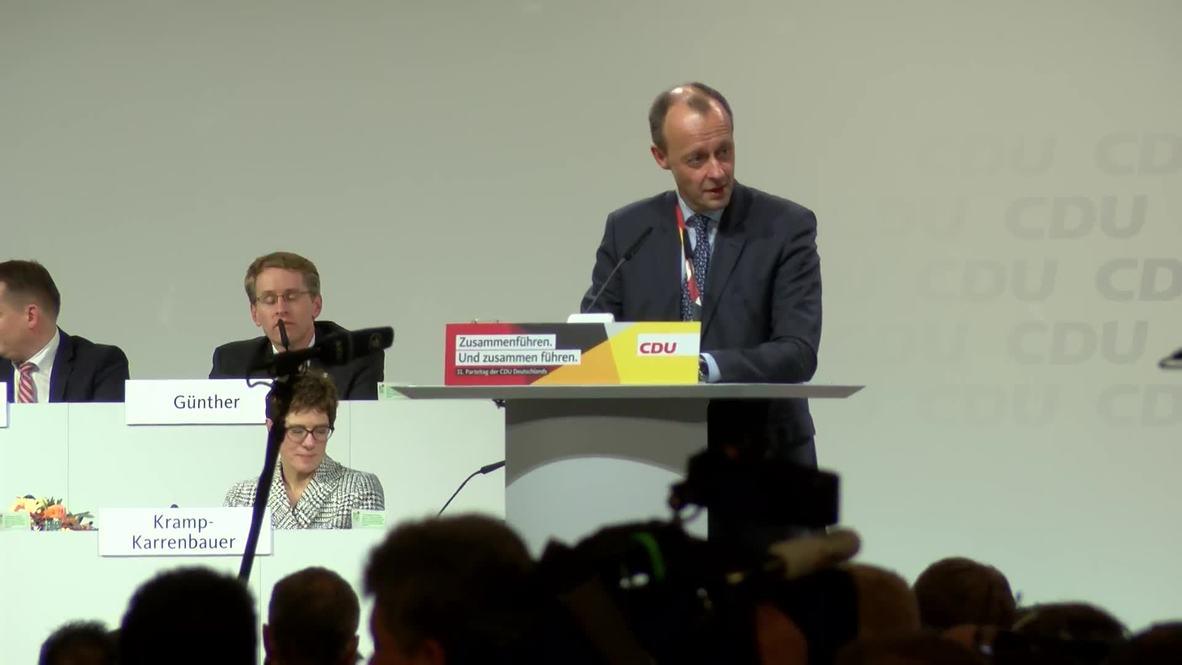 Germany: Annegret Kramp-Karrenbauer succeeds Merkel as CDU party chief