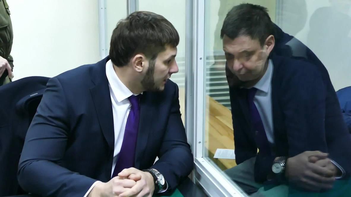 Ukraine: Court upholds decision to keep RIA editor Vyshinsky in custody