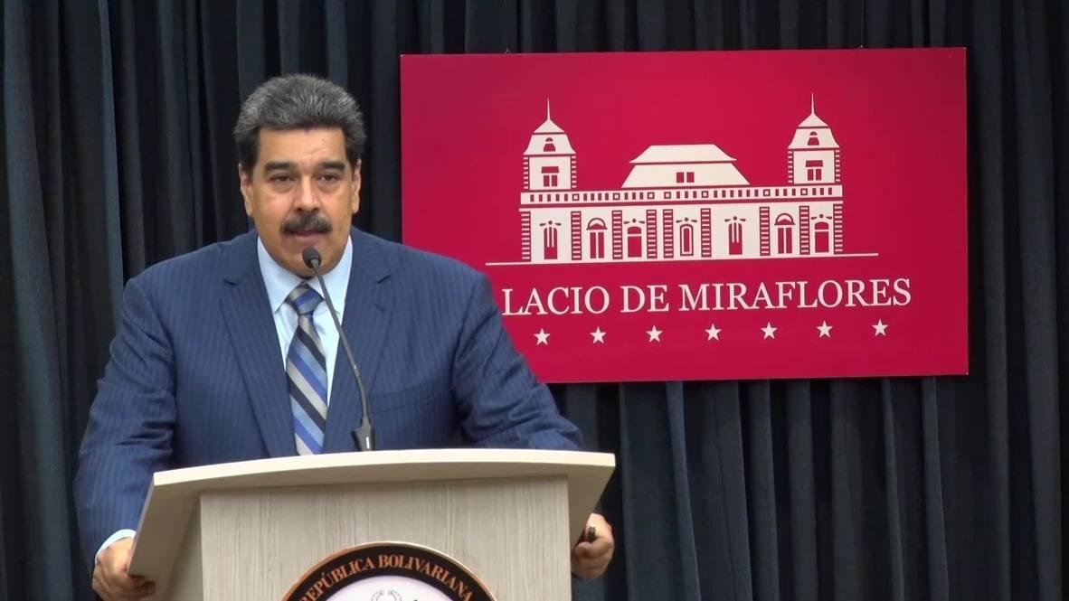 Venezuela: Maduro accuses Washington of plotting his assassination