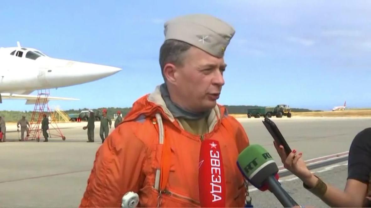 Venezuela: Russian and Venezuelan pilots continue joint training