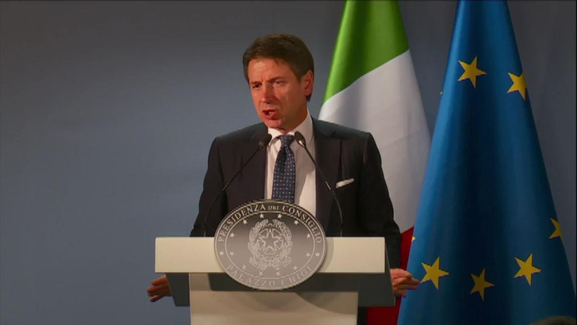 Belgium: Italian PM says Italian budget still up for debate with the EU