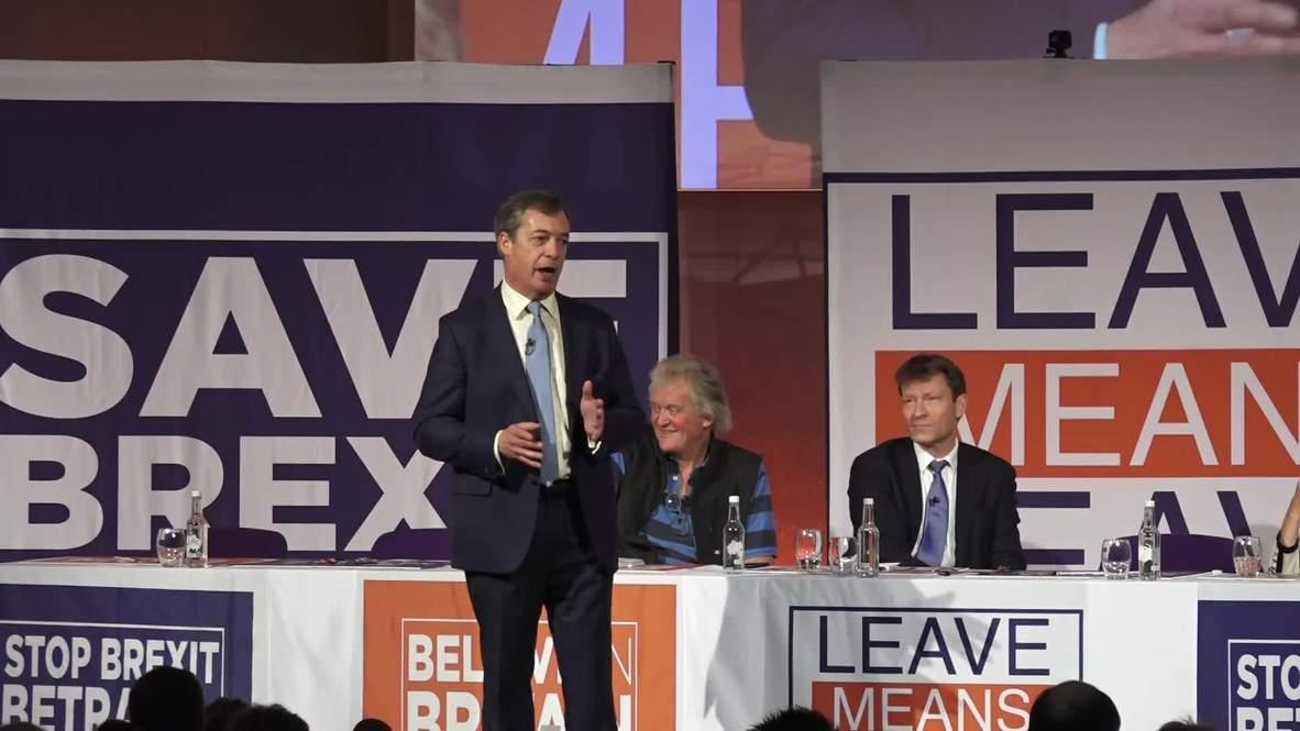 UK: Farage denounces Jean-Claude Juncker's 'nebulous' Brexit comment