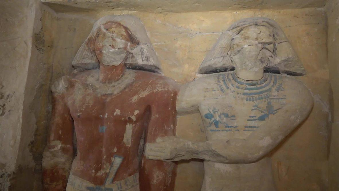 Arqueólogos descubren una tumba de 4.400 años de antigüedad en Egipto