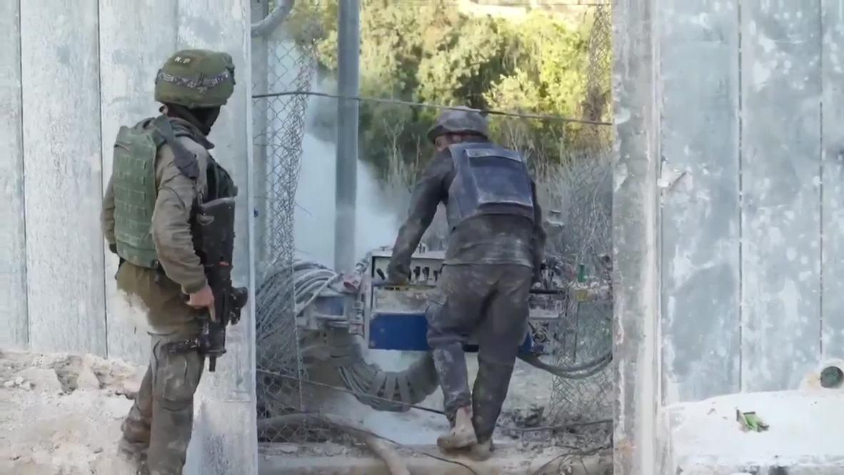 Israel: Encuentran un nuevo túnel de Hezbolá cerca de la frontera con el Líbano