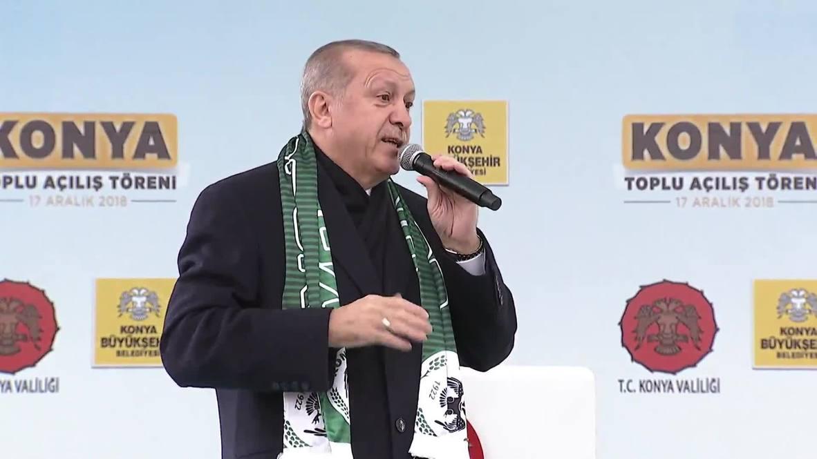 Turkey: 'We will continue to bury them' - Erdogan on Kurdish militants