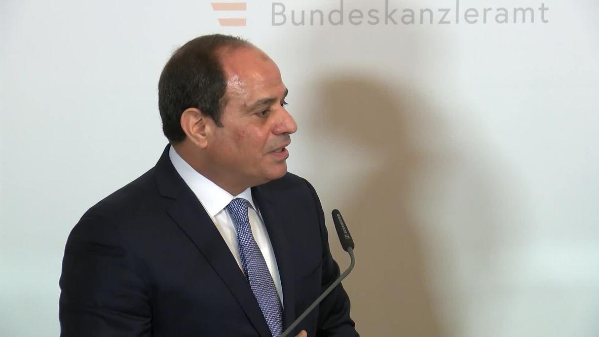 Austria: Kurz and Sisi praise mutual achievements in tackling migration