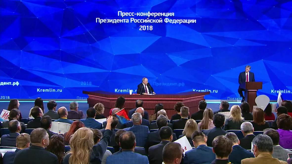Russia: Putin calls Butina, Skripal cases 'politicized, Russophobic approach'