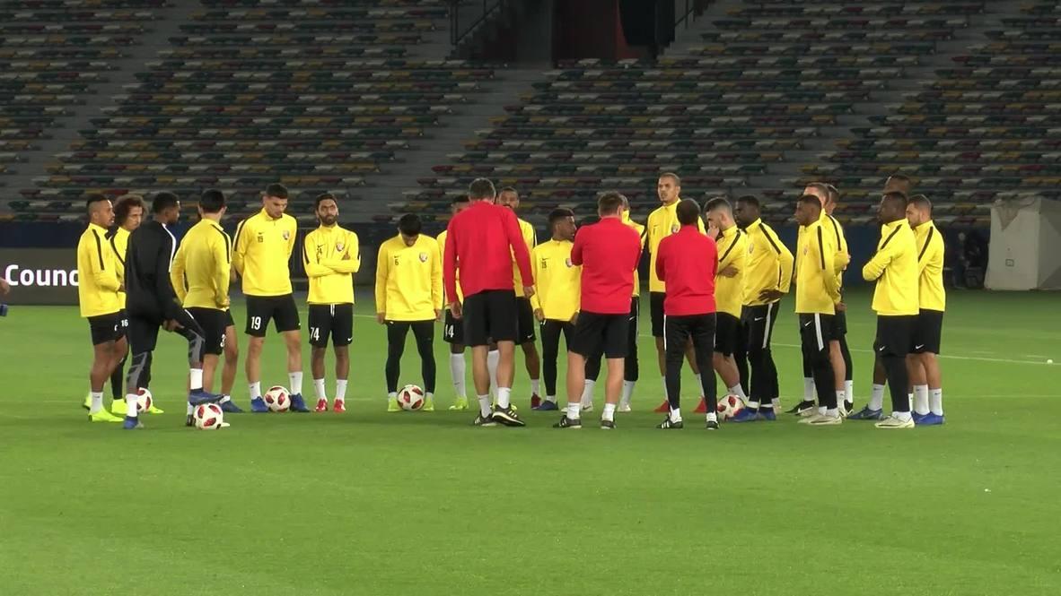 UAE: Al Ain FC hold last training ahead of Club World Cup final