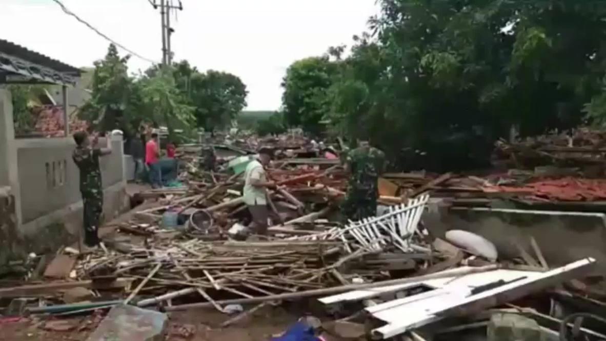 Indonesia: Tsunami deja 168 muertos tras erupción del Krakatoa