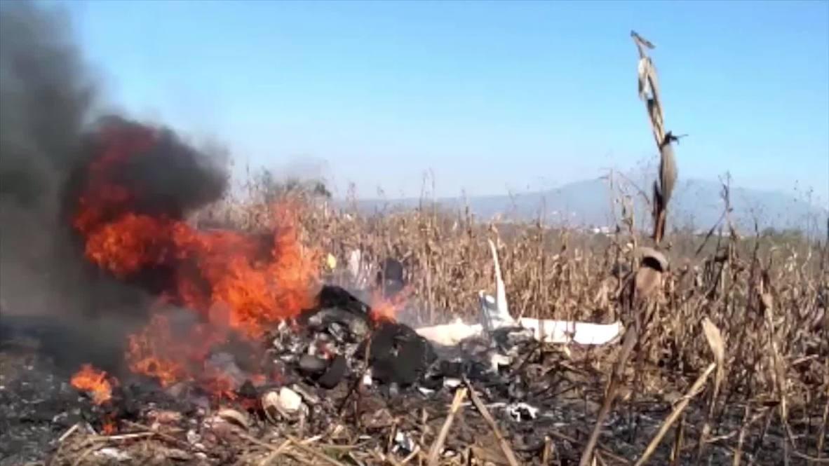 México: Mueren gobernadora y senador en accidente aéreo