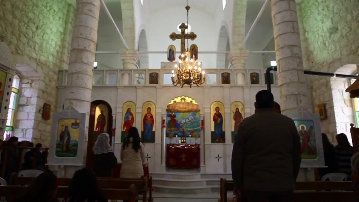Syria: Historic Christian town of Maaloula celebrates Christmas