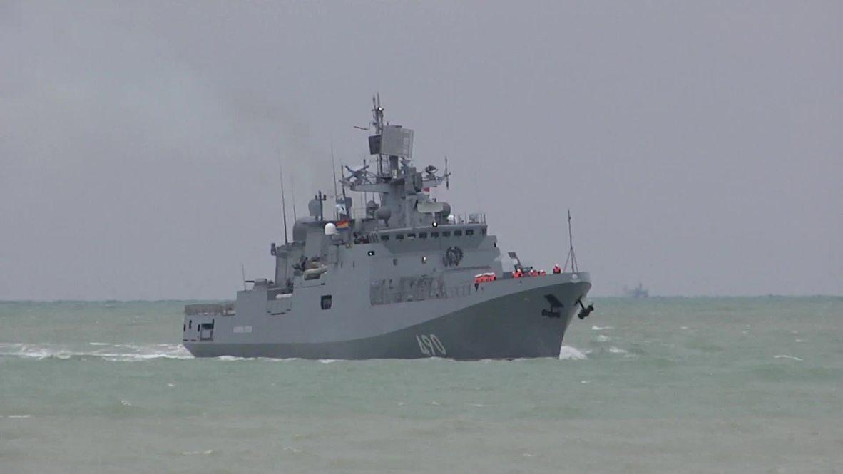 Russia: Frigate Admiral Essen returns to Sevastopol