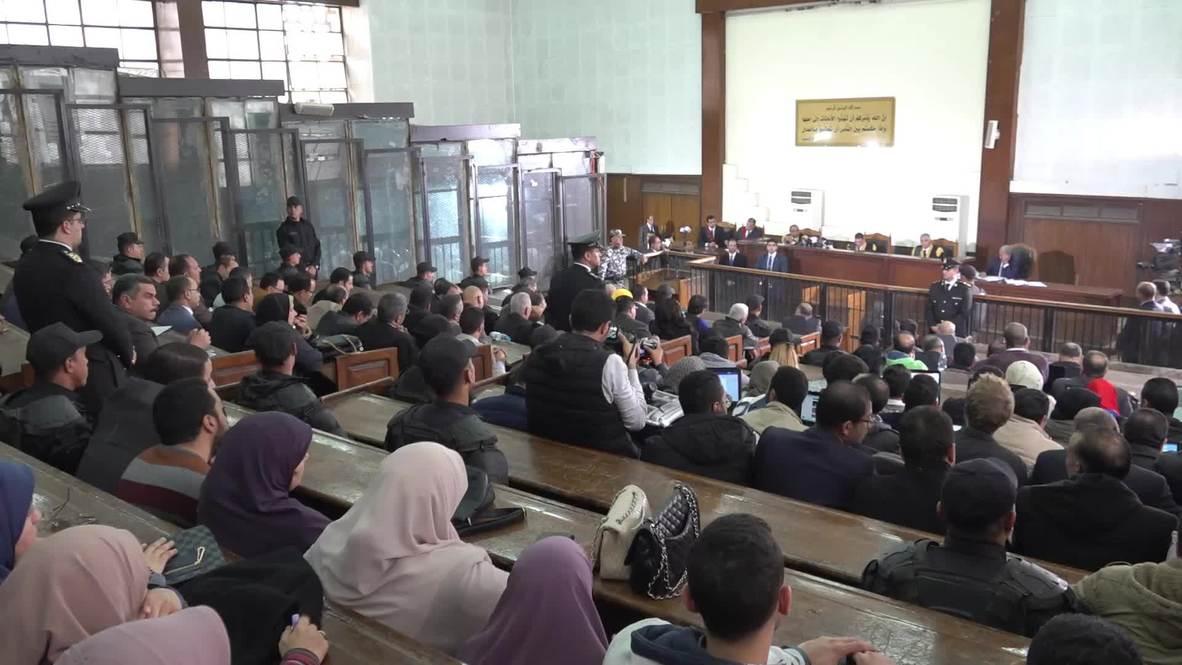 Egipto: Mubarak testifica en el nuevo juicio de Morsi en El Cairo