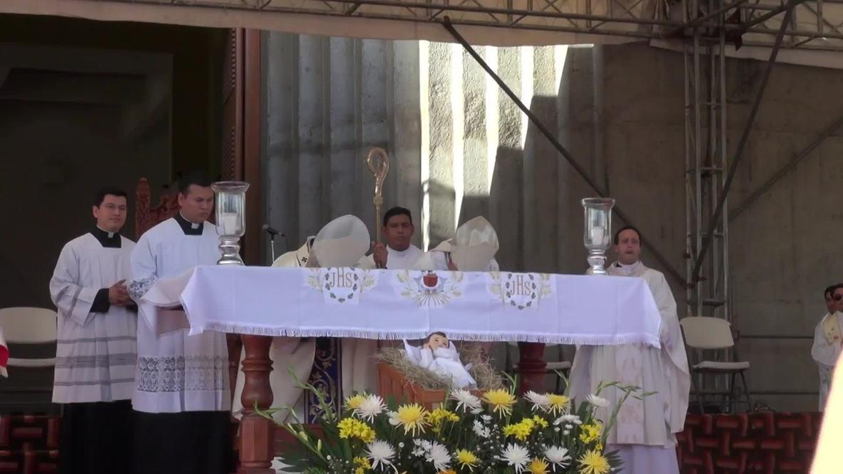 Nicaragua: Celebran una misa por la paz en Managua