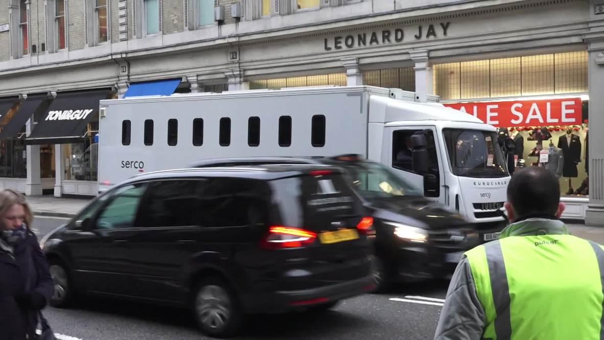 Reino Unido: El sospechoso de planear ataques en Londres llega al tribunal antes de su sentencia