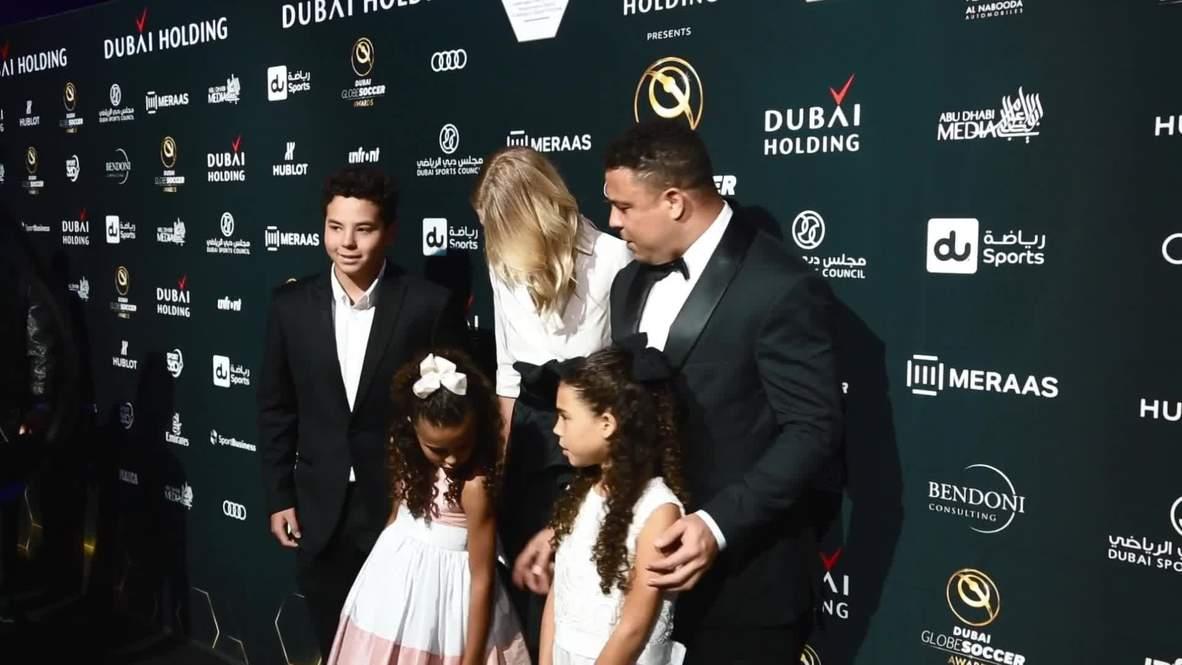 Emiratos Árabes Unidos: Las estrellas del fútbol llegan a los premios Globe Soccer Awards 2018