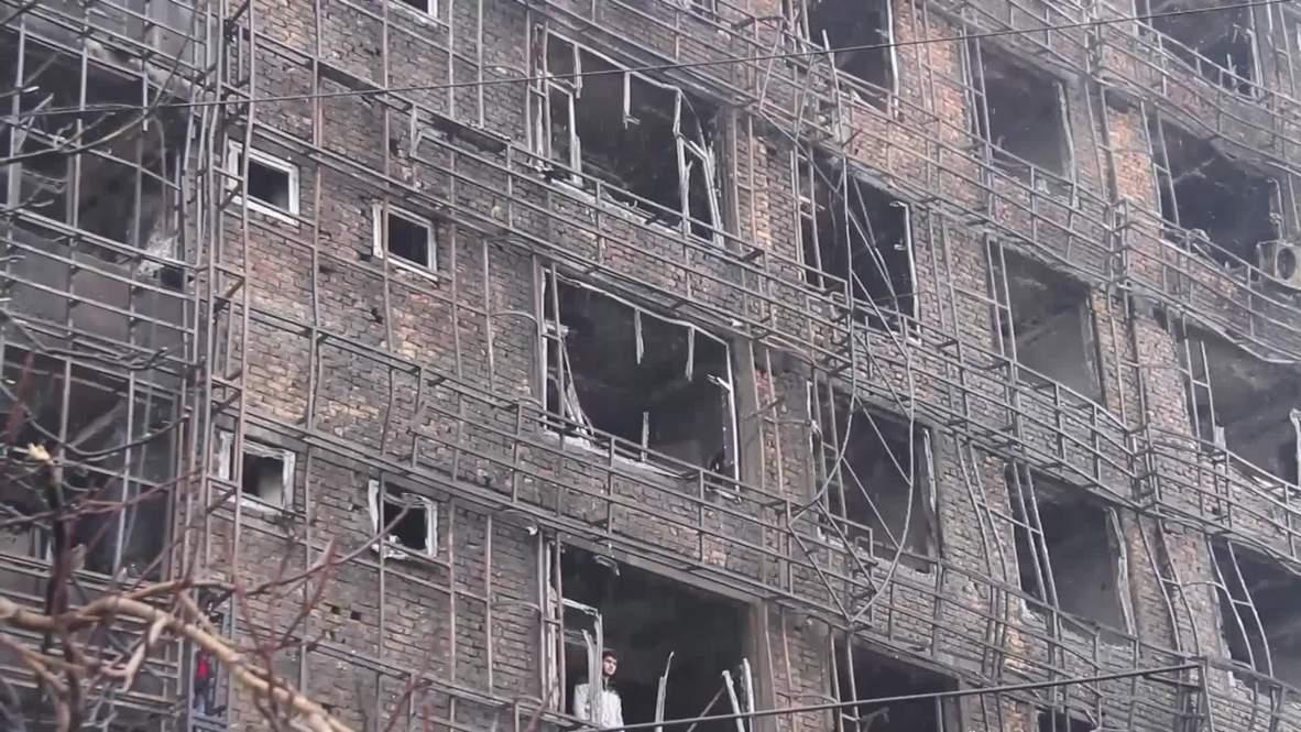 Afganistán: Tres muertos tras incendio en una gasolinera y edificio residencial