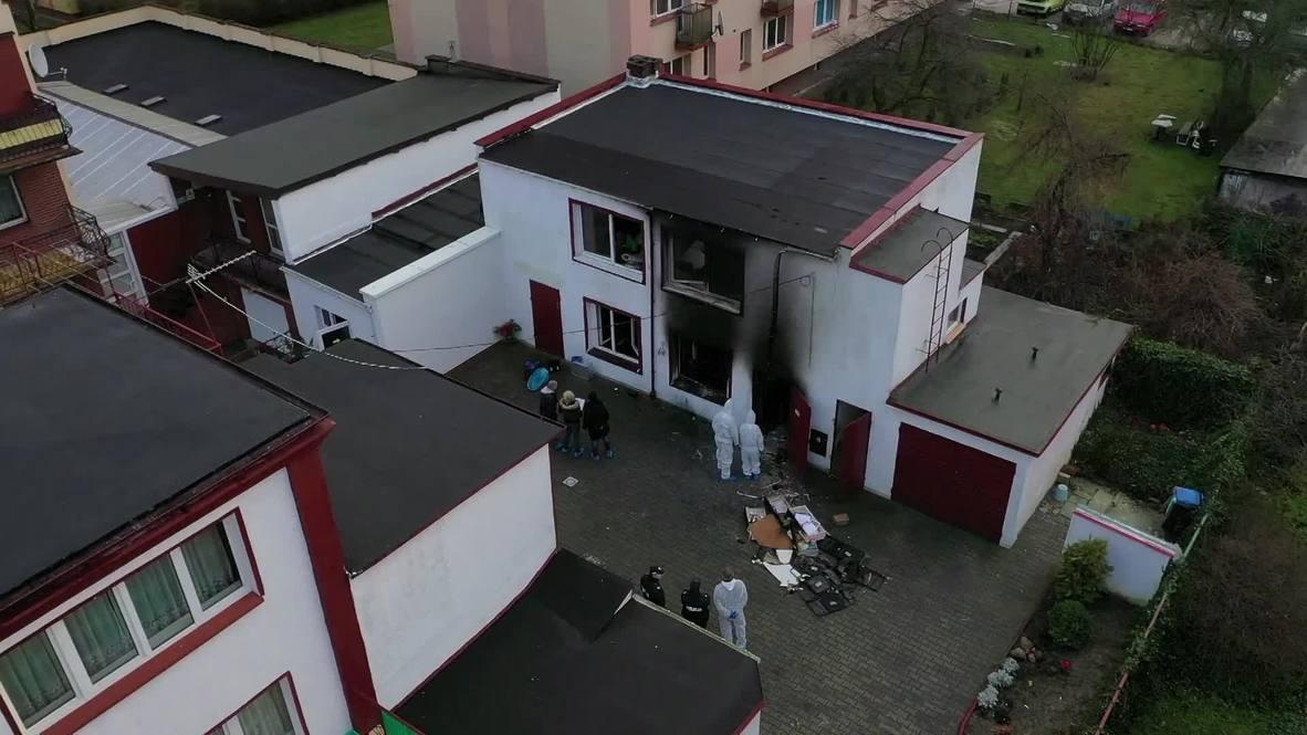 Poland: Five teenage girls killed in escape room blaze in Koszalin