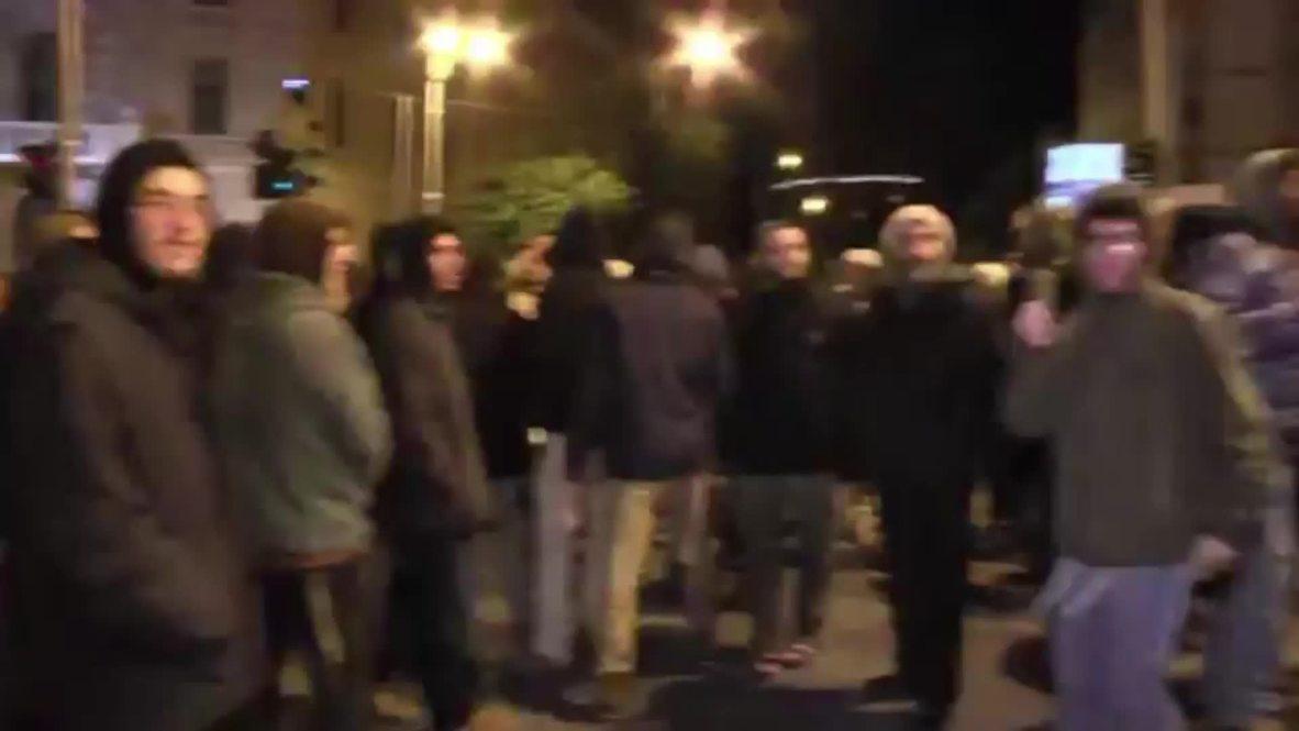 Israel: Cientos de personas protestan por el arresto de dos colonos menores en caso de terrorismo judío