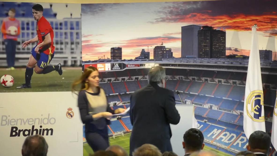 Spain: Real Madrid signs new wonderkid Brahim Diaz