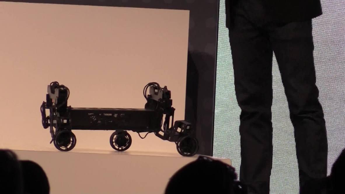 USA: Hyundai amazes CES with the Elevate 'walking' car