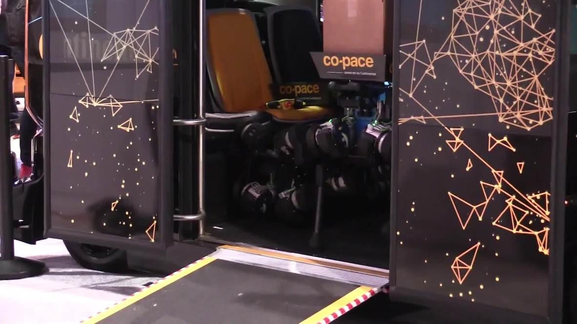 EE.UU.: Continental presenta un servicio de mensajería a través de perros robóticos en el CES Las Vegas