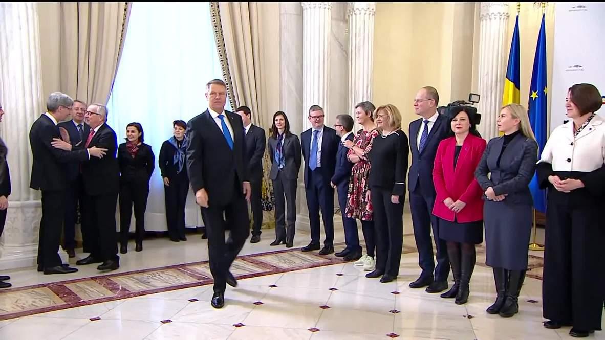 Romania: President Iohannis vows to promote a 'cohesive Union' during EU Presidency
