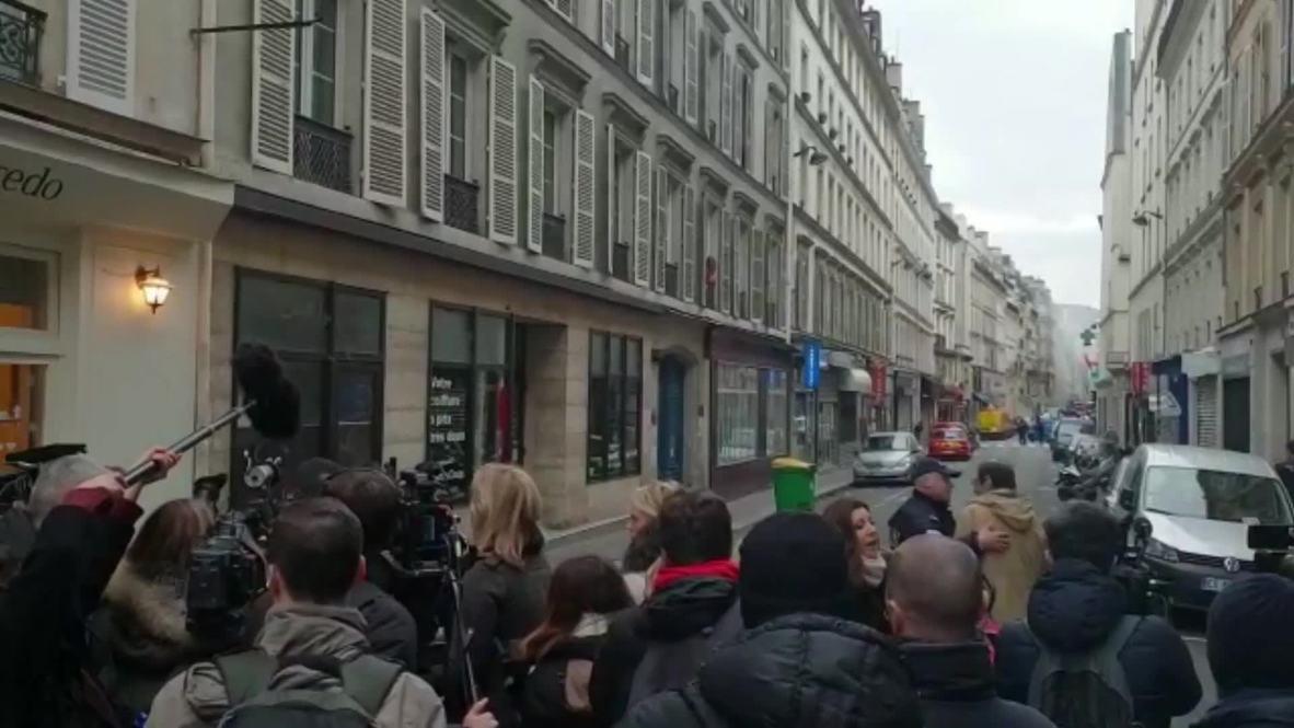 Francia: Al menos 20 heridos por una explosión de gas en París