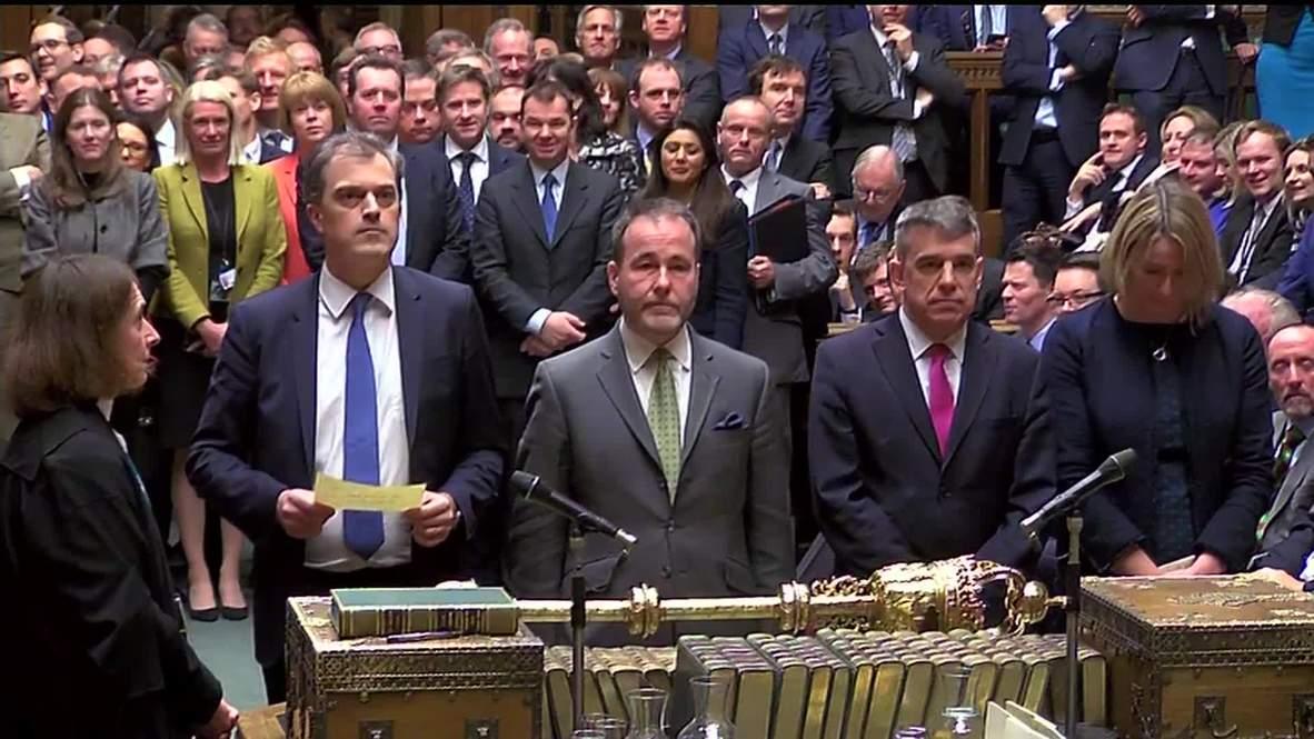 Reino Unido: May sobrevive a una moción de no confianza