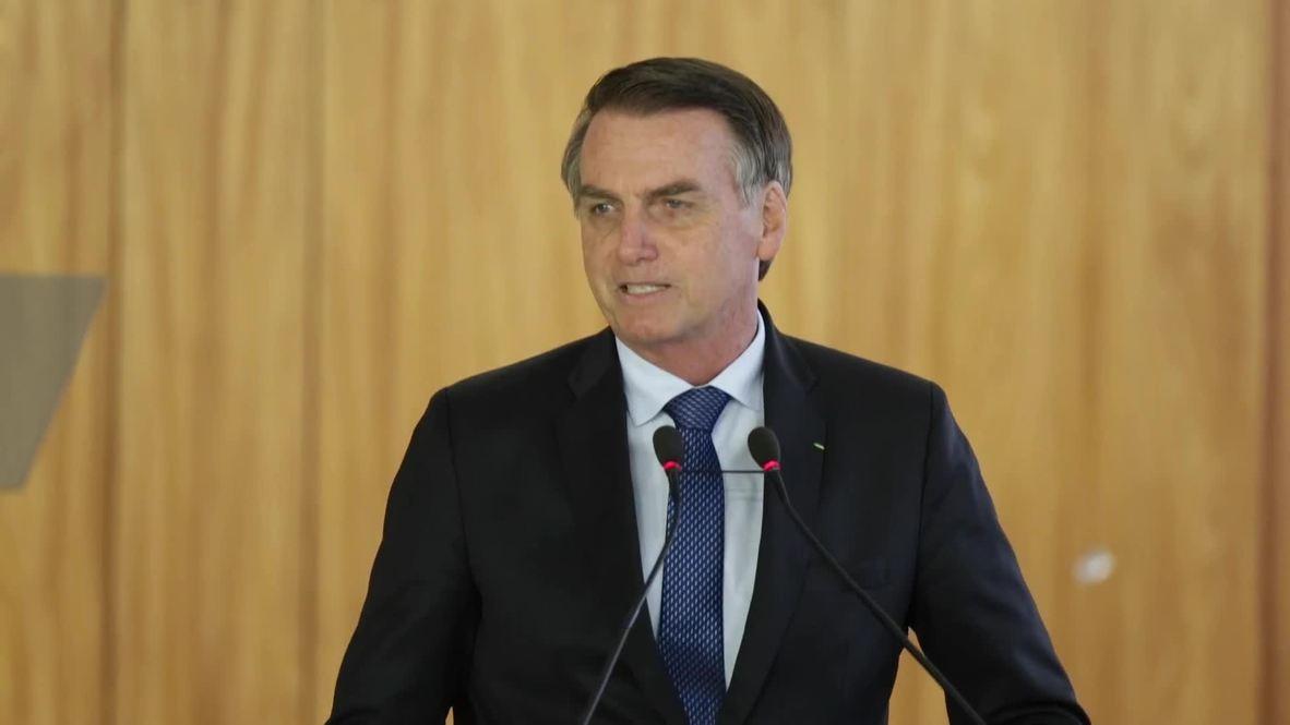 Brazil: Brazil's Bolsonaro and Argentina's Macri meet for first time