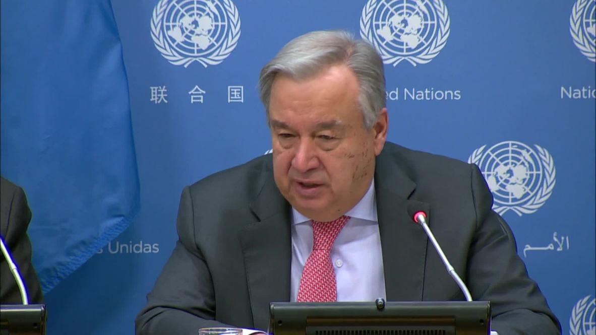 UN: US-North Korea talks should 'move on' - UN chief Guterres