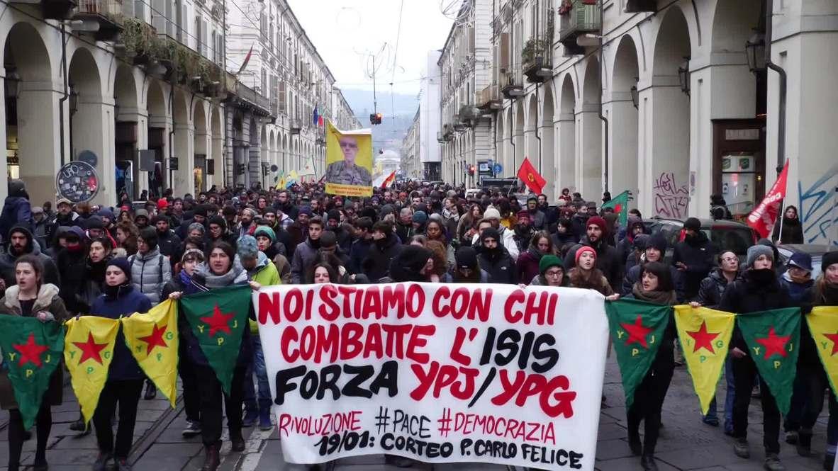 Italy: Hundreds decry 'special surveillance' request for pro-Kurdish activists