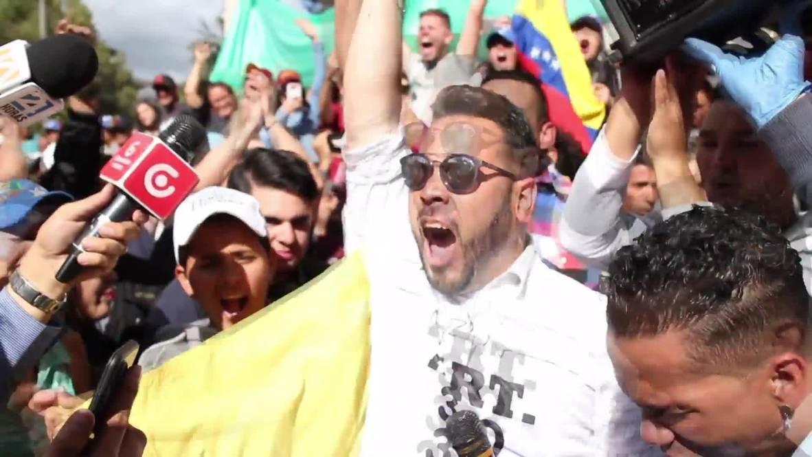 Ecuador: Venezolanos celebran que Quito reconozca a Guaidó como presidente interino