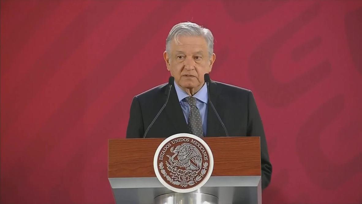México: AMLO sigue la postura de no intervención en la crisis venezolana