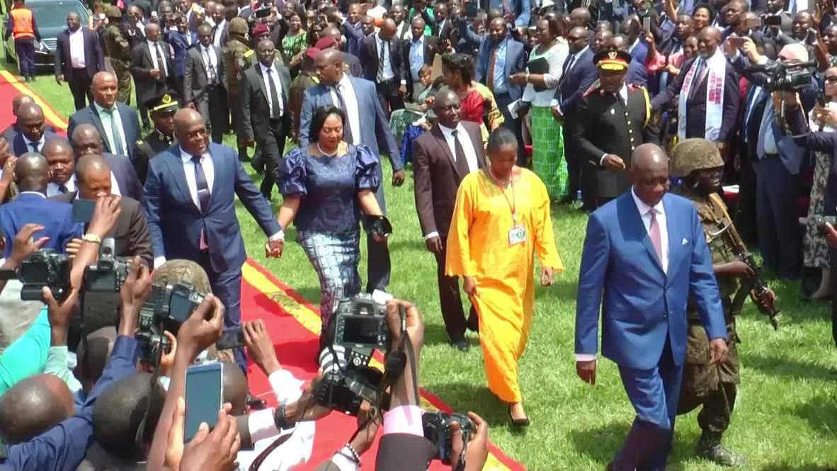 Democratic Republic of Congo: Tshisekedi sworn in as president in Kinshasa