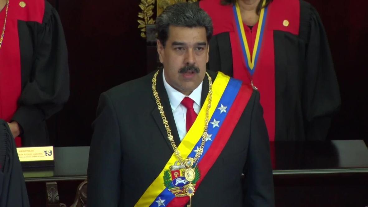 Venezuela: Embattled Maduro arrives at Supreme Court amid turmoil