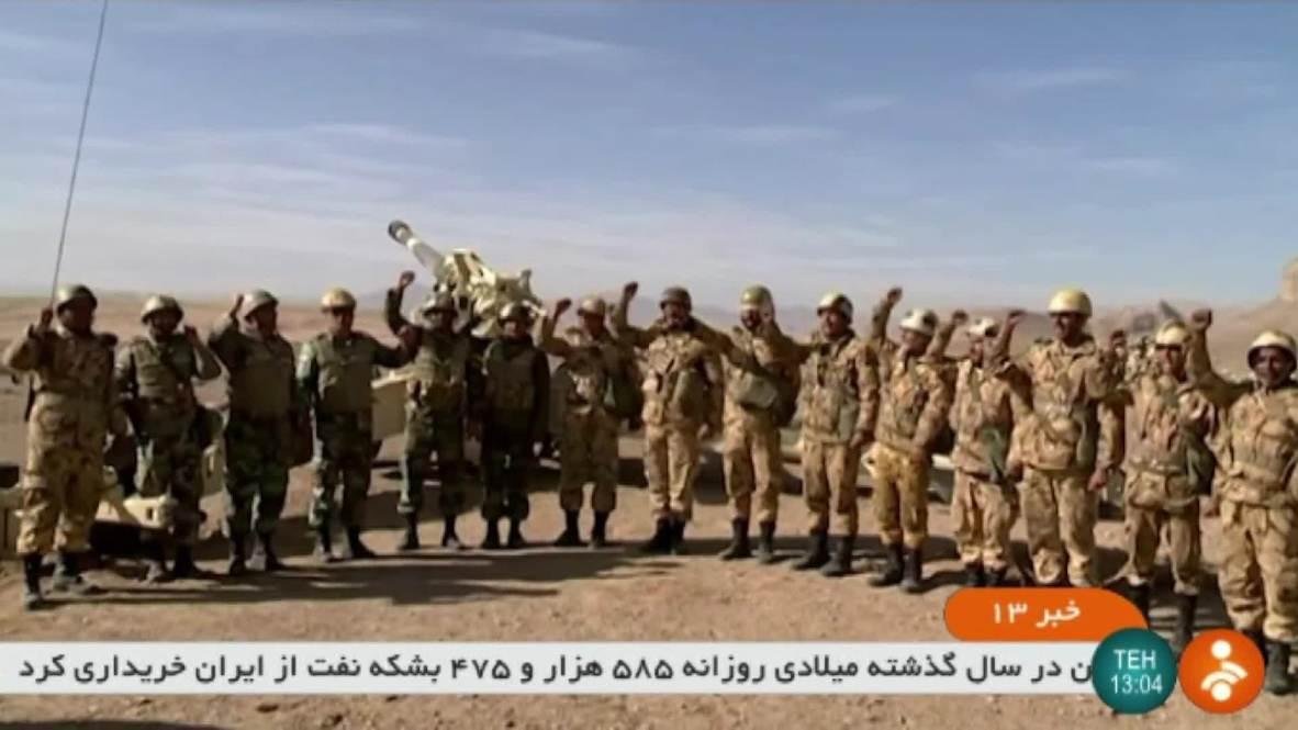 Iran: Large-scale 'Eqtedar 97' war drills kick off in Isfahan