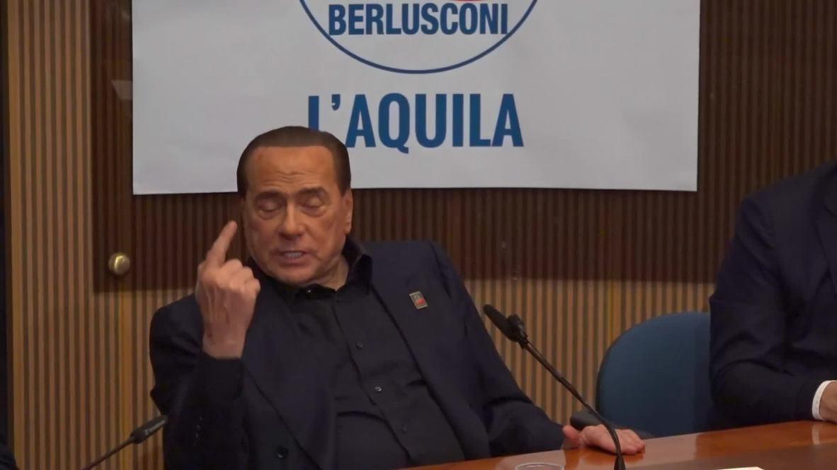 Italy: Berlusconi confirms he will run for European Parliament