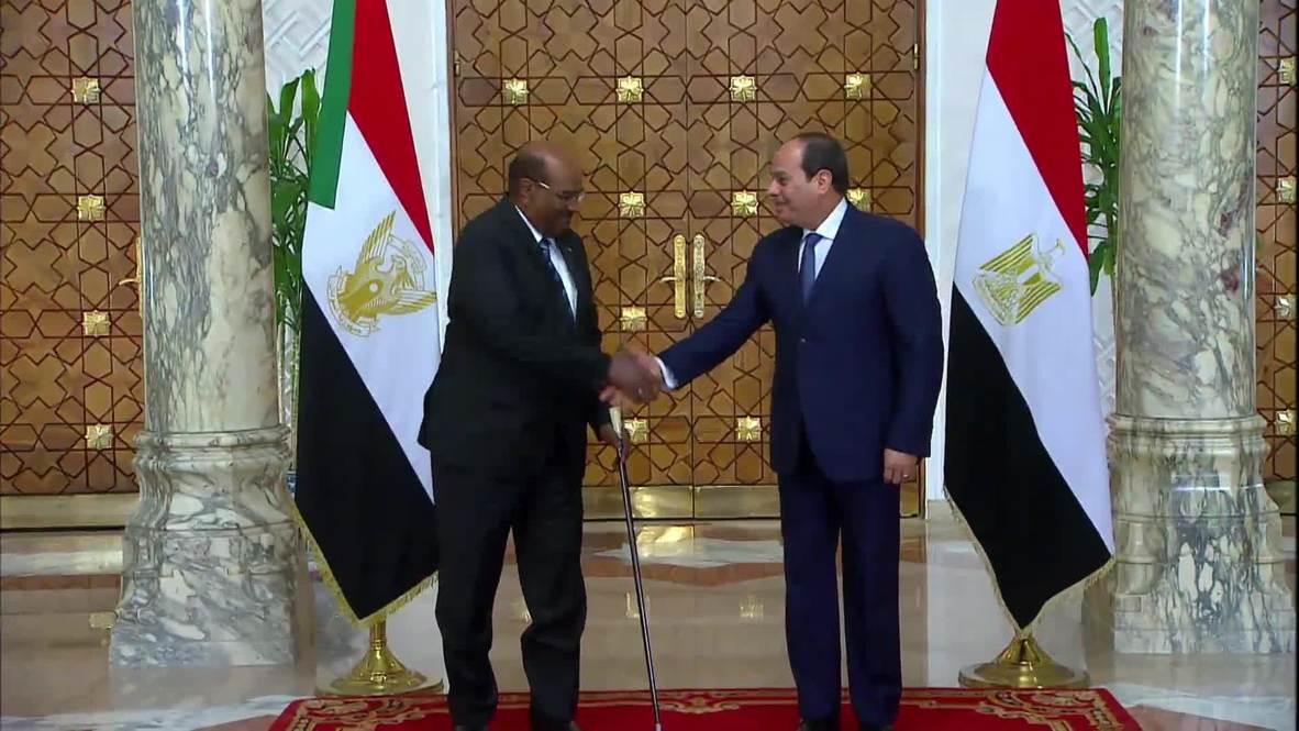 Egypt: President el-Sissi hosts Sudanese counterpart al-Bashir in Cairo