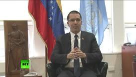Rusia/EE.UU.: 'EE.UU. no solo está detrás del golpe de Estado, sino que lo encabeza' - Ministro de Relaciones Exteriores sobre Venezuela *CONTENIDO DE SOCIO* *EXCLUSIVO*