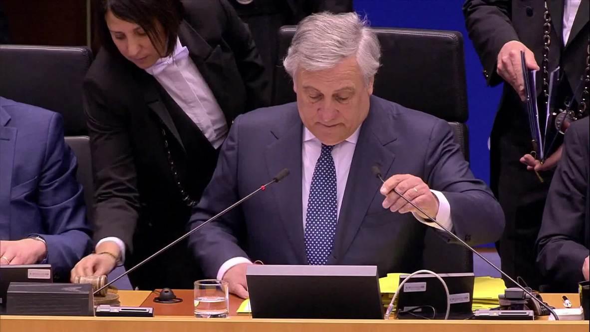 Bélgica: El Parlamento Europeo reconoce a Guaidó como presidente interino de Venezuela