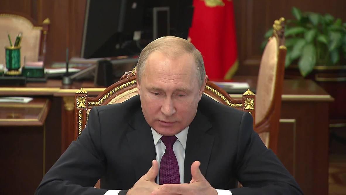 Russia: Moscow to suspend INF Treaty as 'symmetrical response' to US – Putin